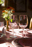 Dinner table Stock Images