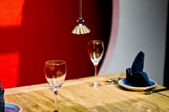 Dinner table Stock Photography