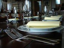 Dinner table detail Stock Photos