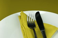Dinner Table Setting stock images