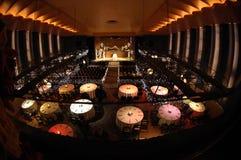 dinner theater Στοκ φωτογραφίες με δικαίωμα ελεύθερης χρήσης