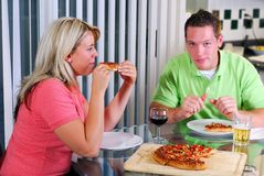 Dinner For Two Royalty Free Stock Photography
