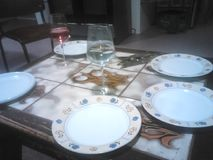 dinnertime Royalty-vrije Stock Foto's