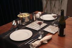 dinnertime dwa obrazy stock