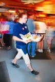 Dinnertime i chodzenie jesteśmy szybcy zdjęcie royalty free