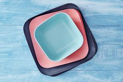 dinnerware imagens de stock royalty free