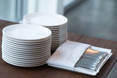 Dinnerware set Stock Photo