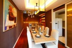 Dinning室 免版税库存图片