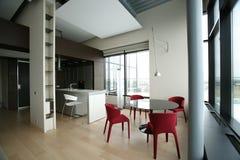 dinning δωμάτιο Στοκ εικόνα με δικαίωμα ελεύθερης χρήσης