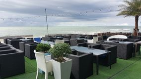 Dinning θαλασσίως Στοκ φωτογραφία με δικαίωμα ελεύθερης χρήσης