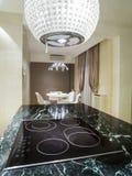 dinning комната кухни Стоковая Фотография