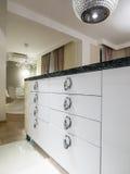 dinning комната кухни Стоковое Изображение