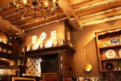 dinning комната традиционная стоковое изображение