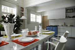 dinning нутряная комната стоковые фото