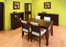 dinning нутряная комната стоковое фото rf