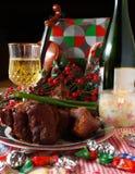dinning праздник Стоковая Фотография RF
