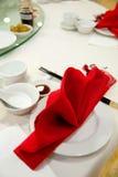 Dinning ajustou 01 Imagem de Stock