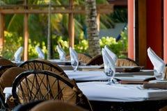 Dinning extérieur Image stock