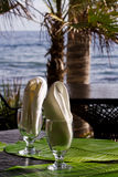 Dinning extérieur Photo libre de droits