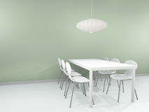 Dinning interior Stock Image