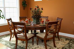 Dinning Raum stockbilder