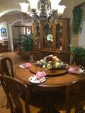 Dinning Rauminnenraum Stockfoto