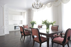 Dinning room Stock Images