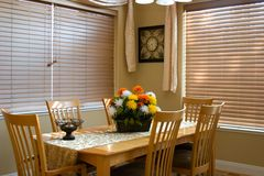 Dinning room Royalty Free Stock Images