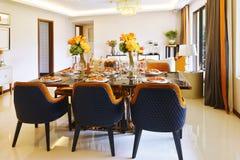 Dinning room Stock Image