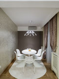 Dinning room. Interior, decoration and furniture Stock Image
