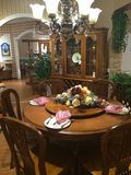 Dinning room interior Stock Photo