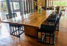 Dinning rum Fotografering för Bildbyråer