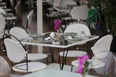 Dinning Tabelle Lizenzfreies Stockfoto