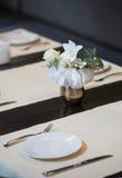 Dinning Tabelle Stockfoto
