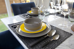 Dinning table Royalty Free Stock Images