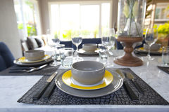 Dinning table Stock Image