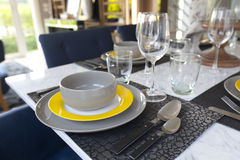 Dinning table Royalty Free Stock Photo
