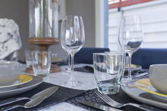 Dinning table Stock Photography