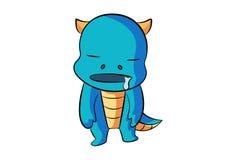 Dino и герой! Стоковое Фото