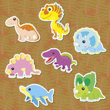 Dino-01 Foto de Stock Royalty Free