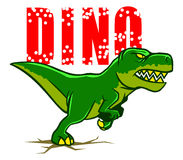 dino illustration stock