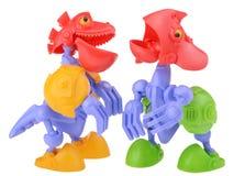 Dino-bots que hablan Imagenes de archivo