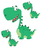 Dino cartoon cute Royalty Free Stock Photo
