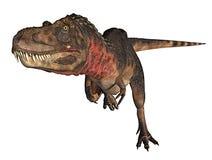 dino dinosaura rex bieg royalty ilustracja