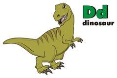 Dino et ABC Illustration Stock