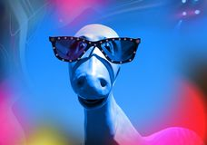 Dino Funky Immagini Stock Libere da Diritti