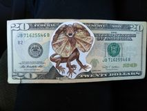 Dino-Geld Lizenzfreies Stockfoto