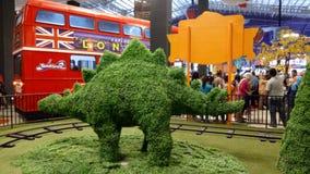 Dino gräs Arkivbilder