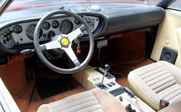 Dino 308 GT4 Stock Photo