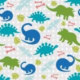 Dino-Hintergrund Lizenzfreies Stockfoto